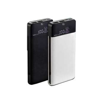 TOTU DESIGN POWER BANK WITH 2IN1 CABLE BLACK