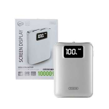 WK SCREEN DISPLAY POWER BANK SILVER